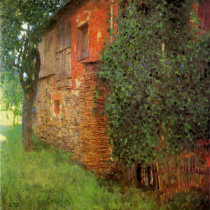 Art Prints of Farmhouse at Kammer on the Attersee 1901 by Gustav Klimt