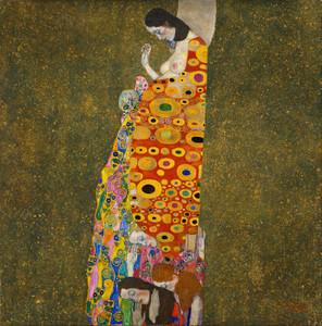 Art Prints of Hope II by Gustav Klimt