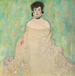Art Prints of Portrait of Amalie Zuckerkandl by Gustav Klimt
