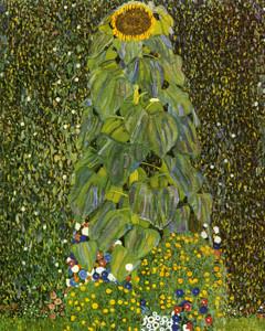 Art Prints of The Sunflower by Gustav Klimt