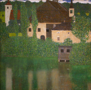 Art Prints of Unterach Manor on the Attersee Lake Austria by Gustav Klimt