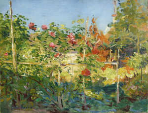 Art Prints of Garden in Trouville by Gustave Caillebotte