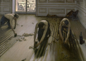 Art Prints of The Floor Planers by Gustave Caillebotte