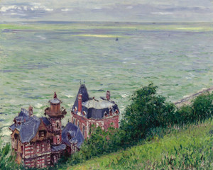 Art Prints of Villas in Trouville by Gustave Caillebotte