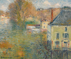 Art Prints of Giverny Flood by Gustave Loiseau