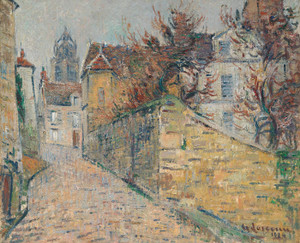 Art Prints of The House of the Sisters of Pontoise by Gustave Loiseau
