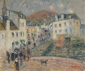 Art Prints of The Mill at Pont Aven by Gustave Loiseau