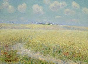 Art Prints of Wheat Fields by Gustave Loiseau
