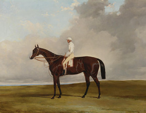 Art Prints of Attila, Winner of the Derby Stakes at Epsom 1842 by Harry Hall