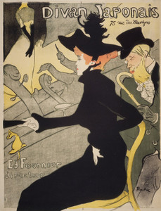 Art Prints of Divan Japonais by Henri de Toulouse-Lautrec