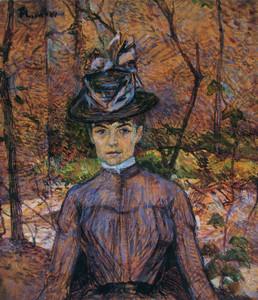 Art Prints of Portrait De Suzanne Valadon by Henri de Toulouse-Lautrec