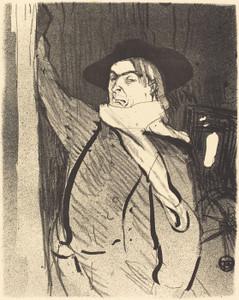 Art Prints of Aristide Bruant, 1893 by Henri de Toulouse-Lautrec