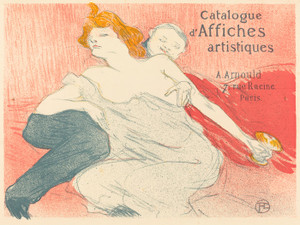 Art Prints of Debauchery, 1896 by Henri de Toulouse-Lautrec