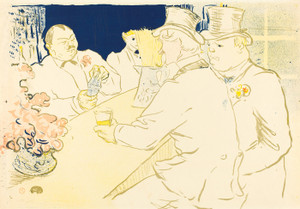 Art Prints of Irish and American Bar, Rue Royale, 1896 by Henri de Toulouse-Lautrec