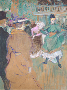 Art Prints of Quadrille at the Moulin Rouge, 1892 by Henri de Toulouse-Lautrec