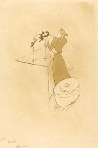 Art Prints of The Milliner, 1893 by Henri de Toulouse-Lautrec