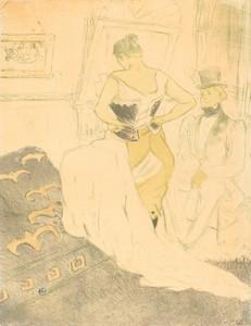 Art Prints of Woman in Corset, 1896 by Henri de Toulouse-Lautrec