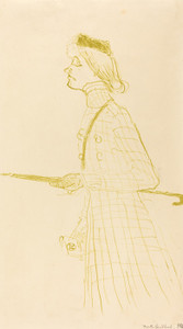 Art Prints of Yvette Guilbert, 1894 by Henri de Toulouse-Lautrec