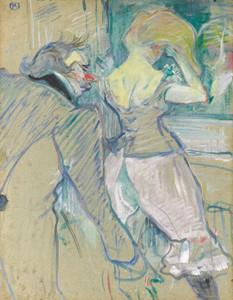 Art Prints of d'Armenonville, en cabinet particulier by Henri de Toulouse-Lautrec