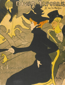 Art Prints of Divan Japonais II by Henri de Toulouse-Lautrec