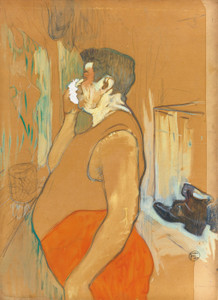 Art Prints of Monsieur Caudieux, Acteur De Cafe Concert by Henri de Toulouse-Lautrec