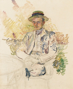 Art Prints of Portrait of Louis Pascal by Henri de Toulouse-Lautrec