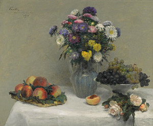 Art Prints of Fruit and Flowers by Henri Fantin-Latour