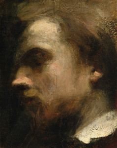 Art Prints of Self Portrait II by Henri Fantin-Latour