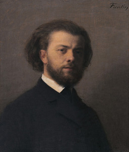 Art Prints of Self Portrait by Henri Fantin-Latour