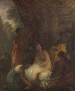 Art Prints of The Bath by Henri Fantin-Latour