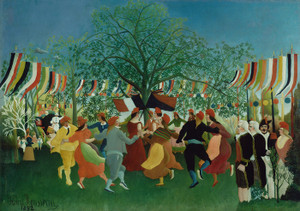 Art Prints of A Centennial of Independence by Henri Rousseau