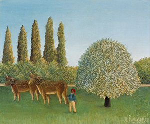 Art Prints of Meadowland by Henri Rousseau
