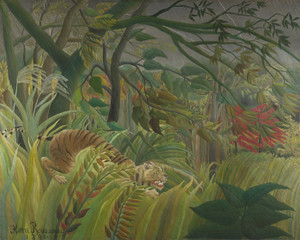 Art Prints of Surprise by Henri Rousseau