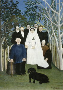 Art Prints of The Wedding Party by Henri Rousseau