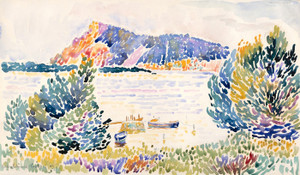 Art Prints of Cap Negre by Henri-Edmond Cross