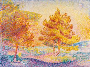 Art Prints of Cross Pines by Henri-Edmond Cross