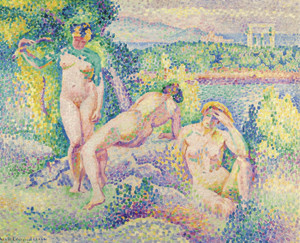Art Prints of Nymphes by Henri-Edmond Cross