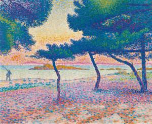 Art Prints of Saint Clair Beach by Henri-Edmond Cross