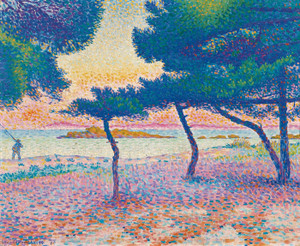 Art Prints of Saint Clair Beach by Henri-Edmond Cross