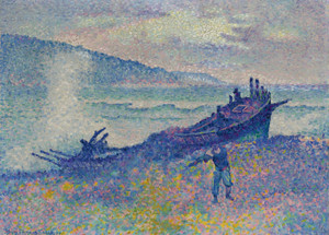 Art Prints of The Wreak by Henri-Edmond Cross