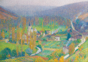 Art Prints of Labastide Green by Henri-Jean Guillaume Martin
