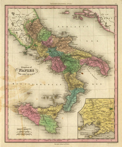 Art Prints of Kingdom of Naples, 1836 (0977052) by Henry S. Tanner