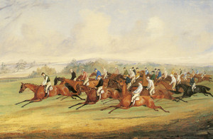 Art Prints of The Start of the Derby II by Henry Thomas Alken