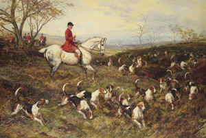 Art Prints of Master of the Hounds by Heywood Hardy