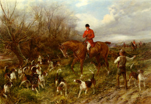 Art Prints of The Lost Scent by Heywood Hardy