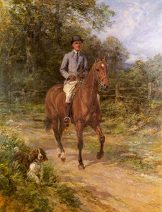 Art Prints of The Morning Ride by Heywood Hardy