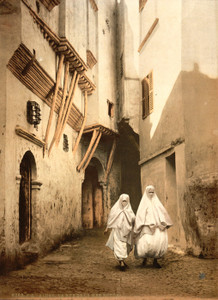 Art Prints of Red Sea Street, Algiers, Algeria (387076)