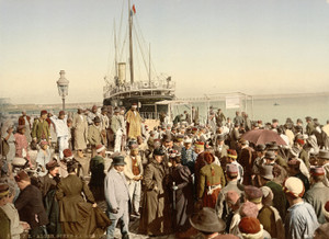 Art Prints of Disembarking from a Ship, Algiers, Algeria (387087)