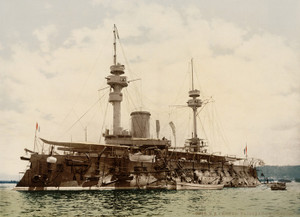 Art Prints of Warship, Algiers, Algeria (387086)