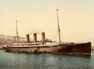 Art Prints of Steamship Normannia, Algiers, Algeria (387090)